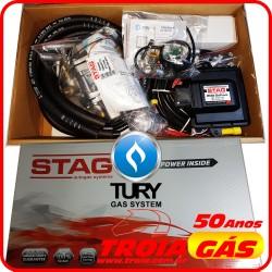 Botão Kit 5ª Geração Stag (TURY) GoFast