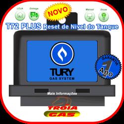 TURY T72 plus Reset de Nível Combustível