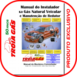 Capa Manual do Instalador GNV