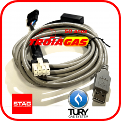 Interface Serial USB p/Programar GNV 5ª 6ª geração STAG