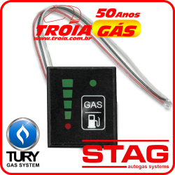 Botão Kit 5ª e 6ª geração STAG / TURY